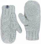 The North Face W Cable Knit Mitt vintage white L/XL