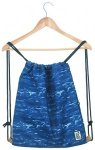 The Pack Society Gymsack Cool Prints blue waves allover