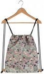 The Pack Society Gymsack Cool Prints grey speckles allover