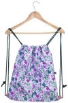The Pack Society Gymsack Cool Prints pink botanical allover