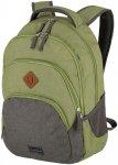 Travelite Basics Rucksack Melange grün/grau