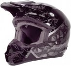 Fly Racing Helm Kinetic Crux, XL, Schwarz