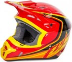 Fly Racing Helm Kinetic Fullspeed, XL, Rot