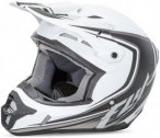 Fly Racing Helm Kinetic Fullspeed, XXL, Schwarz