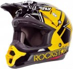 Fly Racing Helm Kinetic Pro Rockstar, XS, Schwarz
