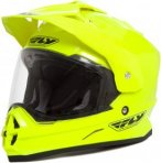Fly Racing Helm Trekker, M, Gelb