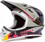 Kini Red Bull Downhill-MTB Helm MTB, L, Silber