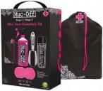 Muc-Off Bike-Reinigungs-/Glanz-Set 5 in 1 Bike-Care Essentials, Set 5 in 1, Rosa