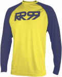 Royal Racing Bike Langarm-Jersey Core, M, Gelb