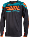 Royal Racing Bike Langarm-Jersey Victory Race, XL, Schwarz