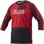 Troy Lee Designs 3/4-Arm Jersey Ruckus Formation, S, Rot