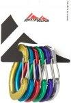 Austrialpin Mirco Wire 6er Set Alu | Schnappkarabiner