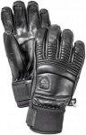 Hestra Leather Fall Line 5-Finger | Skihandschuhe Black 7