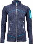Ortovox Fleece Light Melange Jacket Women (Kleidungsgröße: XS, Farbe: blau)
