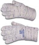 Berchtesgaden Glove, grau geflammt 8