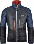 Swisswool Piz Boval Jacket M, crazy orange blend S