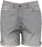 Chillaz Damen Lisa Shorts (Größe S, Grau) | Kurze Hosen > Damen