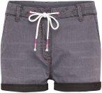 Chillaz Damen Summer Splash Shorts (Größe M, Schwarz)