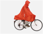 Exped Daypack & Bike PonchoAusführung: Terracotta