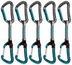 Mammut 5er Pack Bionic Express Sets Straight Gate/Wire Gate, basalt-aqua, Gr. 10
