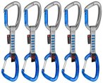 Mammut 5er Pack Crag Indicator Wire Express Sets Straight Gate/Wire Gate, silver