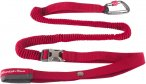 Mountain Paws Leine Shock Absorber rot