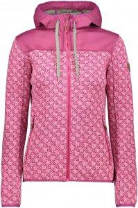 CMP W FIX Hood Jacket Stars   Größe 34,36,38,40,42,44,46,48   Damen Freizeitjacke