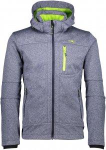 CMP M Jacket Zip Hood Softshell Melange   Größe 48,50,52,54,56,58   Herren Freizeitjacke