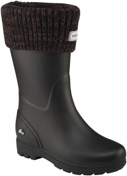 Viking Mira Jr. Warm Kids charcoal 2015 32 schwarz Outdoor Schuhe Sport- & Freizeitschuhe Gummistiefel 32