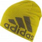 adidas Knit Logo Beanie Gelb, Mütze, M