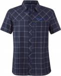 Bergans Langli Shirt Short-Sleeve Blau, Herren Kurzarm-Hemd, XL