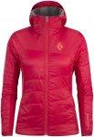 Black Diamond Access LT Hybrid Hoody Rot-Pink, Damen PrimaLoft® Jacke, isoliert