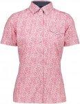 CMP Shirt Polyester Stretch Lila/Violett, Damen Kurzarm-Hemd, 36