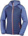 Columbia Powder Lite Hodded Jacket Blau, Female Freizeitjacke, M
