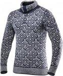 Devold Originals Svalbard Sweater Zip Neck Blau, Freizeitpullover, M