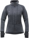 Devold Tinden Spacer Woman Jacket With Hood Grau, Female Merino Isolationsjacke,