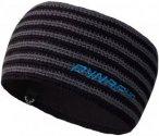 Dynafit Hand Knit Headband Grau-Gestreift, Stirnbänder, Uni 58