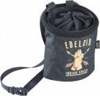 Edelrid Chalk Bag Rocket Twist Schwarz, Kletterzubehör, One Size