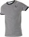 Edelrid Kamikaze T Weiß-Schwarz-Gestreift, Herren Kurzarm-Shirt, L
