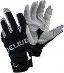 Edelrid Work Glove Close Weiß-Schwarz, Fingerhandschuh, XS