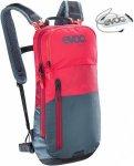 Evoc CC 6L + 2L Bladder Rot-Grau, FahrradrucksackFahrradrucksack