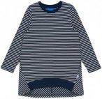 Finkid Girls Lumikki Blau-Weiß-Gestreift, Kinder Langarm-Shirt, Größe 120-130