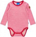 Finkid MUN Wool Pink, Kinder Merino Oberteil, 70 -80