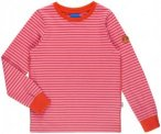 Finkid Rulla (Modell Sommer 2017) Pink-Gestreift, Kinder Langarm-Shirt, 110 -120