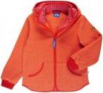 Finkid Tonttu Match Orange, Kinder Fleece-& Powerstretch-Pullover, 100 -110