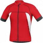 Gore Bike Wear Alp-X Pro Jersey Weiß-Rot, Herren Kurzarm-Shirt, L