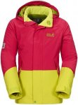 Jack Wolfskin Girls SOW Ride Texapore Insulated Jacket Gelb-Pink, Kinder Freizei