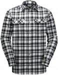 Jack Wolfskin BOW Valley Shirt Schwarz, Herren Langarm-Hemd, XXL