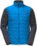 Jack Wolfskin ICY Trail Blau, Herren Doppeljacke-3-in-1-Jacke, L