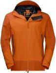 Jack Wolfskin North Slope Orange, Male Freizeitjacke, L